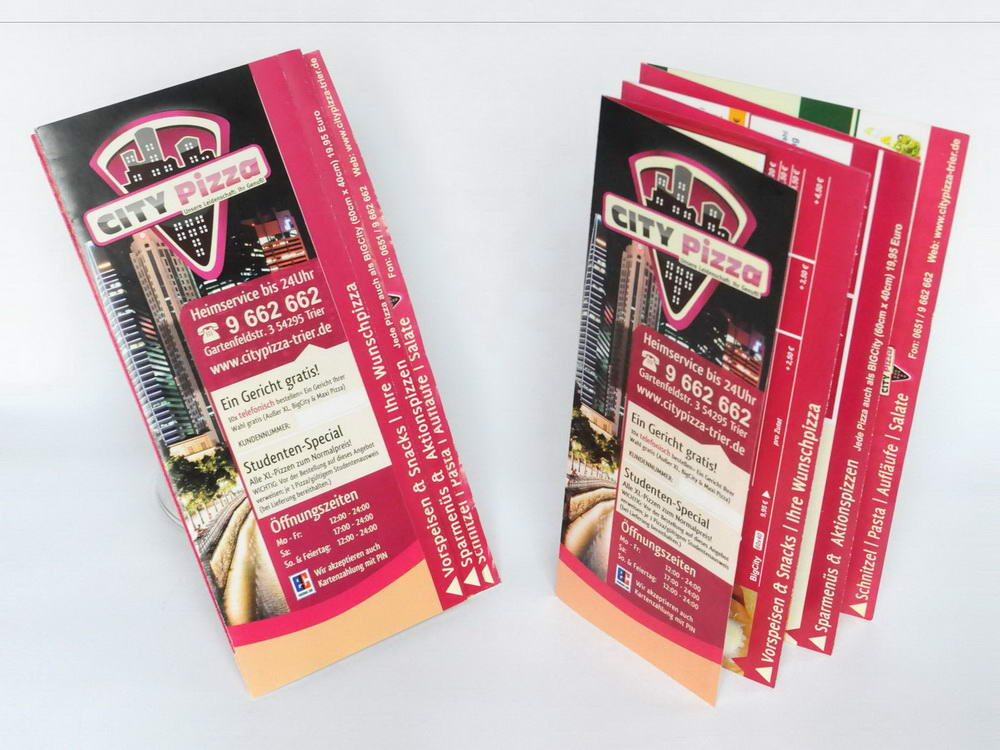 print citypizza flyer
